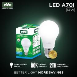 Lampu LED NVC-A70I-EE / Putih 14 Watt / Bohlam Murah Hemat Listrik