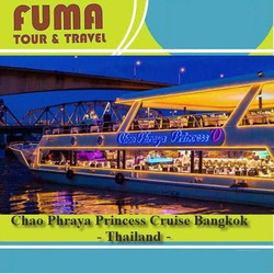 Tiket Chao Phraya Princess Dinner Cruise Bangkok - Dewasa (Fix Date)