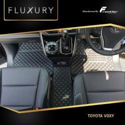 Karpet Mobil Fluxury Untuk Toyota Voxy Type Ultimate Gold Shell