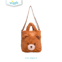 Wigglo Slingbag Fluffy Bear