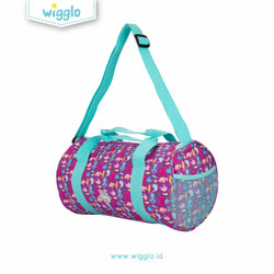 Wigglo Duffle Bag Sea Animals Purple