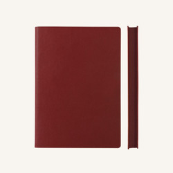 DAYCRAFT - SIGNATURE GRID NOTEBOOK A5 RED