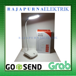 Lampu belajar portable LED aoki 6039 touch and dimmer