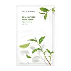 NATURE REPUBLIC Real Nature Green Tea Mask Sheet