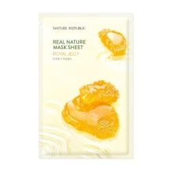 NATURE REPUBLIC Real Nature Royal Jelly Mask Sheet