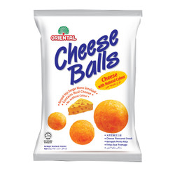 ORIENTAL SNACK CHEESE BALL 60 GR