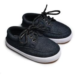 First Light K05 Black sepatu anak balita gratis kaos kaki