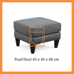 Ridente | Pouf Dust 45x45x45cm