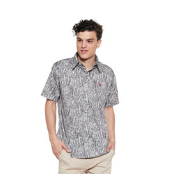POLO RALPH LAUREN Shirt Custom Fit Marine Grey Men - FS - BX2200039