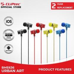 [FS] CLIPtec BME636 / Urban Art / In-Ear Earphone / With Microphone