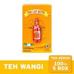 Teh Seduh Melati Cap Botol Premium 100 gr (5 pcs) - Loose Tea