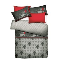 AI BY AKEMI LOVESOME DESIGN MUSIC DREAM FITTED SHEET SET