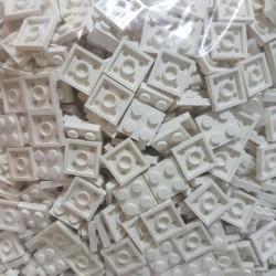 lego plate 2x2 white