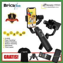 Brica BSteady PRO - Free Kaos + Tripod + Action Cam Holder + Hardcase