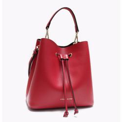 Ashley Bucket Bag - Red