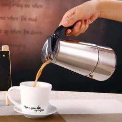 Teko Kopi Stainless Steel untuk 6 cup / Moka Pot 300ml