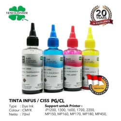 TINTA INFUS / CISS CANON BLACK / COLOR - 70 ML