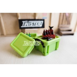Scale Plastic Container Box LIME GREEN - LARGE