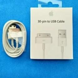 Kabel Data Charger Original iPhone 3G 3GS 4 4S iPad iPod 1 2 / 30-pin