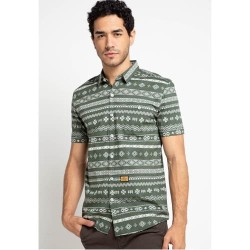 EMBA JEANS-Marloe Two Men's Shirt in Olive