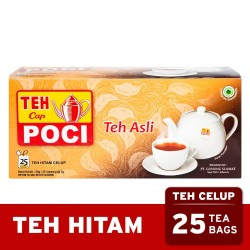 Teh Celup Cap Poci Wangi Teh Asli 25 Bags - Teh Poci - Tea Bag