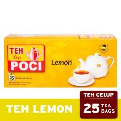 Teh Celup Cap Poci Rasa Lemon 25 Bags - Teh Poci - Tea Bag