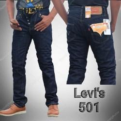 Celana Jeans Merk Levis 501 Biru Dongker Grade Original Murah