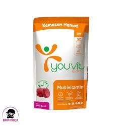 YOUVIT Multivitamin Dewasa Mix Berri Pouch isi 30 pcs