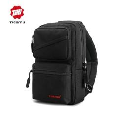 TIGERNU T-S8050 Crossbody Shoulder Bag - Tas Selempang BLACK