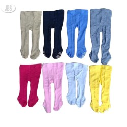 Celana legging bayi polos tutup kaki Cotton Rich Tight - legging bayi