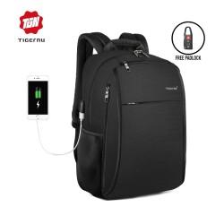 "TIGERNU T-B3221 Backpack Bag USB - Tas Ransel Laptop 15.6 ""- BLACK"