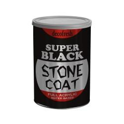 Cat Pelapis Batu Alam Stone Coat Super Black 1 L