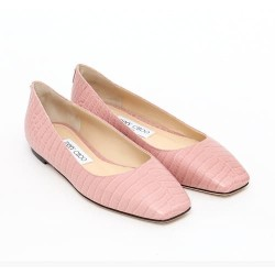 Sepatu flat wanita original | JIMMY CHOO MIRELE FLAT IN BLUSH 4050513
