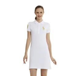 Mesh Dress Wanita Putih Polo Ralph Lauren - YA2801EN501