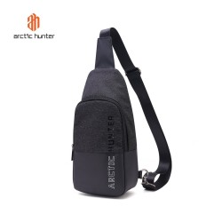 ARCTIC HUNTER XB00058 Crossbody Bag - Tas Selempang BLACK