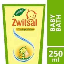 Zwitsal Natural Baby Bath Minyak Telon 250ml