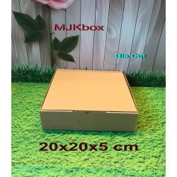 Kotak kardus karton Uk. 20x20x5 cm............Die Cut