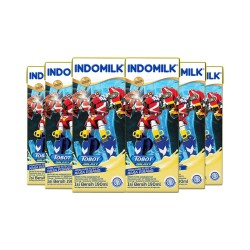 Indomilk UHT Banana 190 ml X 6 Pcs