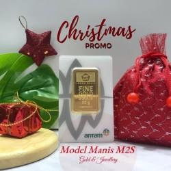 CHRISTMAS PROMO + FINEGOLD 50 Gr / 50g NEW CERTIEYECARD