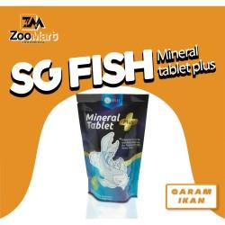 SG FISH - MINERAL TABLET PLUS Vitamin C Garam Ikan 40 Tablet 280 Gram
