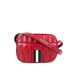 Bally Dymo Leather Minibag Crossbody In Red