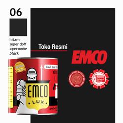 Cat Kayu & Besi Emco Lux 1kg - Hitam Super Doff