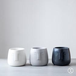 Vas Bunga / Face Pot D10 (Basic) / Pot Bunga