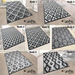 [GRATIS ONGKIR] Karpet Sofia 100X150 (Monochrome Designs)