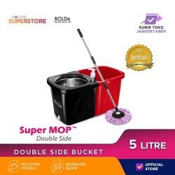 Bolde Super Mop DOUBLE SIDE Red Black