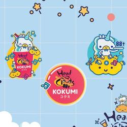 Bundling 3 KOKUMI x 88rising Pop Socket