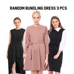 Set bundling dress random 3 pcs