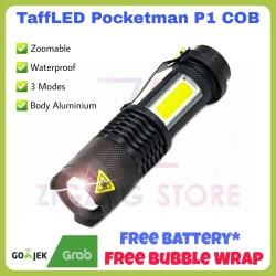 Senter Camping TaffLED Pocketman P1 COB Waterproof 3800 Lumens