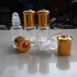 Botol Roll On Kaca 3 ML Permata
