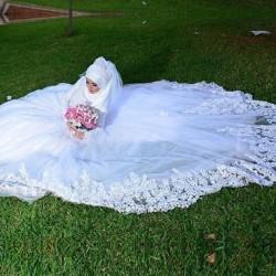 Jual Gaun Pengantin Hijab Murah Harga Terbaru 2021